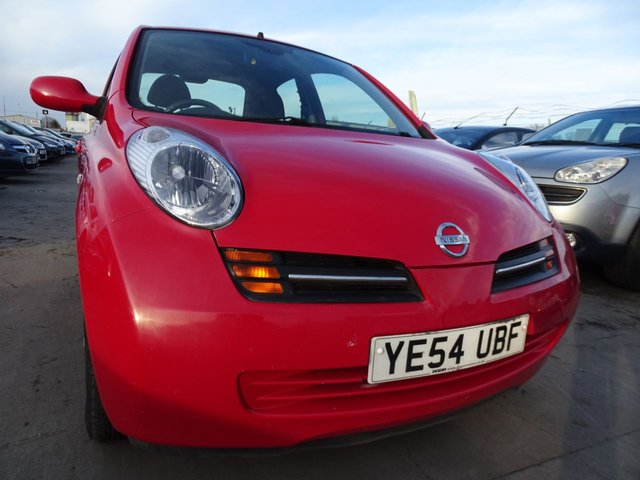USED 2004 54 NISSAN MICRA 1.2 SE 5d 80 BHP AUTOMATIC CLEAN