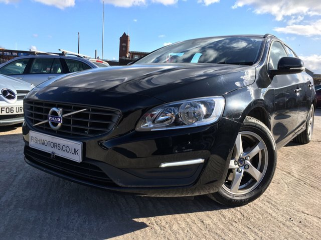 USED 2015 65 VOLVO V60 2.0 D3 BUSINESS EDITION 5d 148 BHP 1 OWNER FROM NEW+FSH 5STAMPS+2 KEYS+20 TAX+NAVI+BLUETOOTH+MEDIA+CRUISE+CLIMATE+PARKING SENSORS+ALLOY WHEELS+