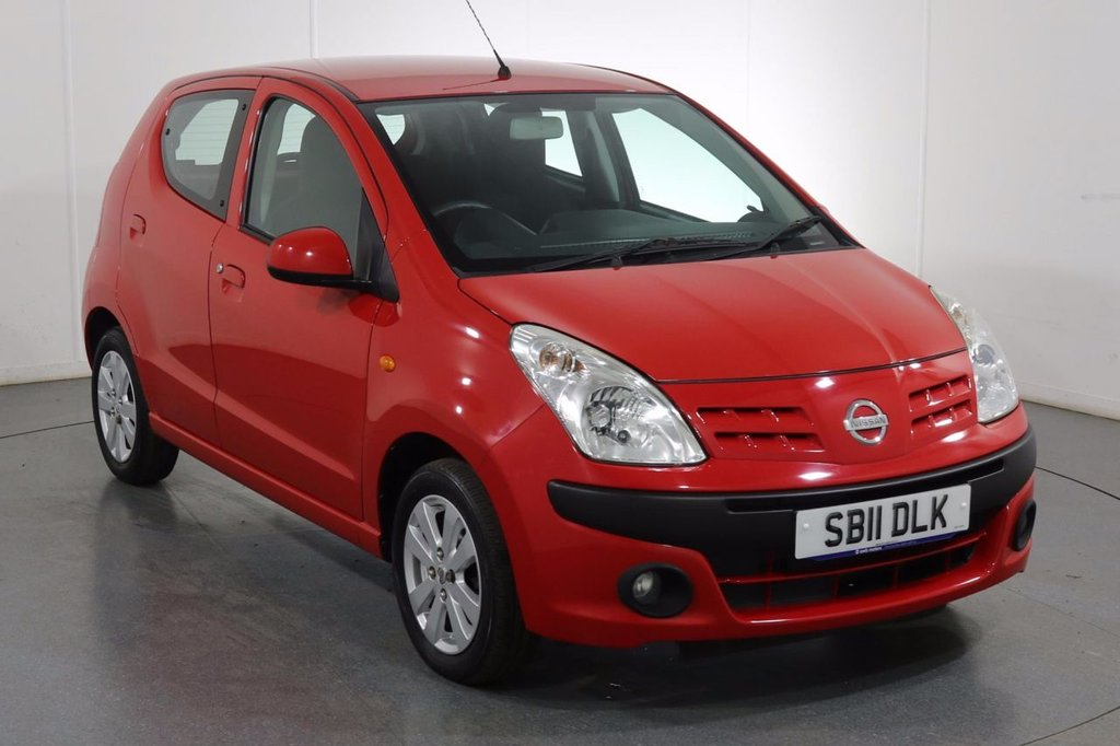 USED 2011 11 NISSAN PIXO 1.0 N-TEC 5d 67 BHP ONE OWNER with 6 Stamp SERVICE HISTORY