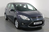 USED 2014 14 FORD C-MAX 1.6 ZETEC TDCI 5d 114 BHP 2 OWNERS with 6 Stamp SERVICE HISTORY