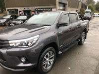 USED 2018 TOYOTA HI-LUX 2.4 INVINCIBLE 4WD D-4D DCB 4d 147 BHP * BLACK PACKED * REVERSING CAMERA *