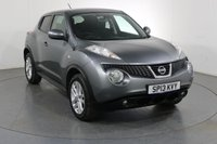 USED 2013 13 NISSAN JUKE 1.6 ACENTA SPORT 5d 117 BHP 2 OWNERS with 7 Stamp SERVICE HISTORY