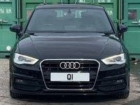 USED 2014 14 AUDI A3 1.6 TDI S line Sportback 5dr Nav/DAB/LED/Xenon/DriveSelect