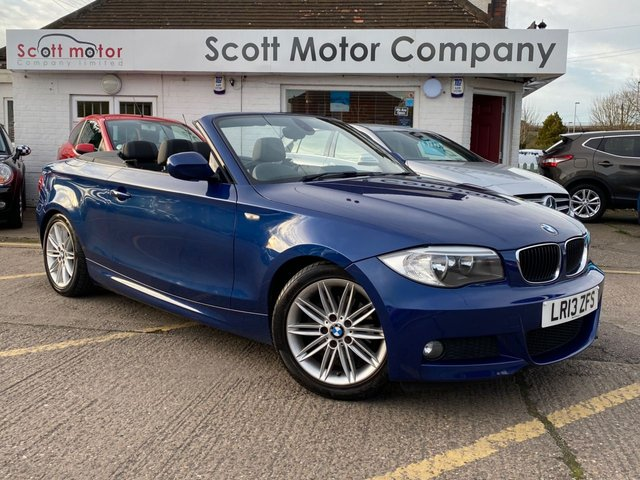 USED 2013 13 BMW 1 SERIES 2.0 118D M Sport Automatic Convertible