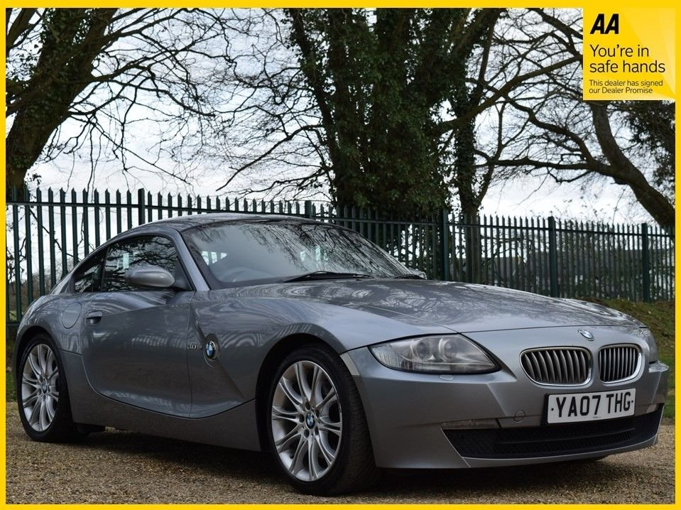 USED 2007 07 BMW Z4 3.0 Z4 SI SPORT COUPE 2d 262 BHP