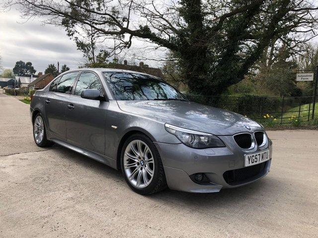 2007 57 BMW 5 SERIES 2.0 520D M SPORT 4d 161 BHP