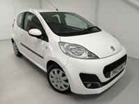 USED 2013 13 PEUGEOT 107 1.0 ACTIVE 3d 68 BHP