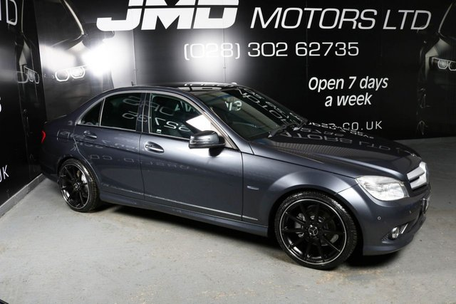 USED 2011 MERCEDES-BENZ C-CLASS 2011 MERCEDES C200 CDI BLUEEFFICIENCY SPORT NIGHT EDITION STYLE 136BHP (FINANCE AND WARRANTY)
