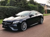 USED 2020 MERCEDES-BENZ E-CLASS 2.0 E300 AMG Line (Premium Plus) G-Tronic+ (s/s) 2dr VAT Q DELIVERY MILES ONLY