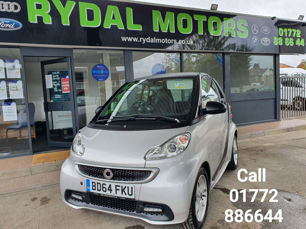 USED 2014 64 SMART FORTWO 1.0 PULSE MHD 2d 71 BHP