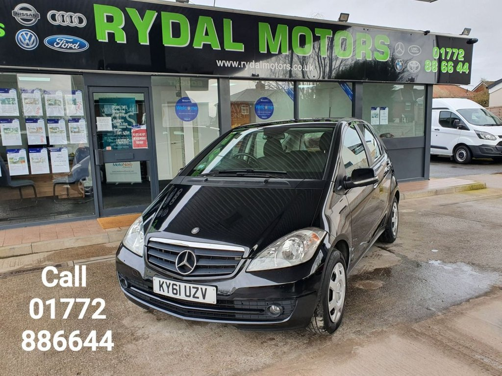 USED 2011 61 MERCEDES-BENZ A-CLASS 1.5 A160 BLUEEFFICIENCY CLASSIC SE 5d 95 BHP
