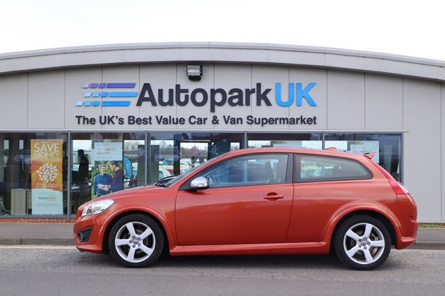 USED 2010 10 VOLVO C30 1.6 R-DESIGN 3d 100 BHP LOW DEPOSIT OR NO DEPOSIT FINANCE AVAILABLE