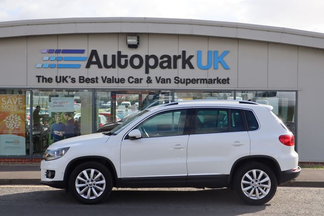 USED 2015 15 VOLKSWAGEN TIGUAN 2.0 MATCH TDI BLUEMOTION TECHNOLOGY 5d 139 BHP LOW DEPOSIT OR NO DEPOSIT FINANCE AVAILABLE