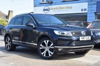 USED 2017 17 VOLKSWAGEN TOUAREG 3.0 V6 R-LINE TDI BLUEMOTION TECHNOLOGY 5d 259 BHP COMES WITH 6 MONTHS WARRANTY