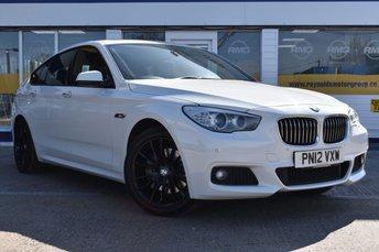 2012 BMW 5 SERIES 3.0 530D M SPORT GRAN TURISMO 5d 242 BHP £12999.00