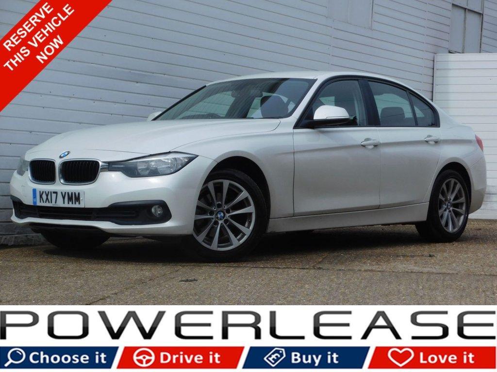 USED 2017 17 BMW 3 SERIES 2.0 318D SE 4d 148 BHP PRO SAT NAV 1 OWNER P/SENSORS