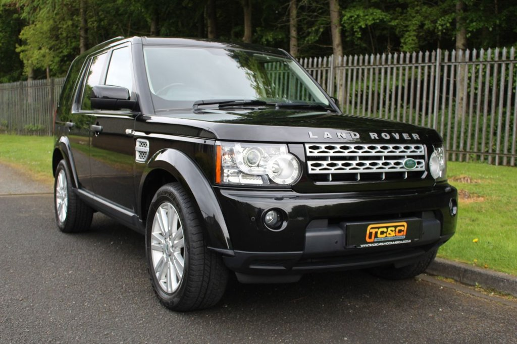 USED 2012 12 LAND ROVER DISCOVERY 3.0 4 SDV6 XS 5d 255 BHP A CLEAN EXAMPLE WITH A COMPREHENSIVE LAND ROVER HISTORY INC. TIMING BELT IN 2020!!!
