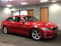 USED 2014 X BMW 4 SERIES 2.0 420D SE GRAN COUPE 4d 181 BHP