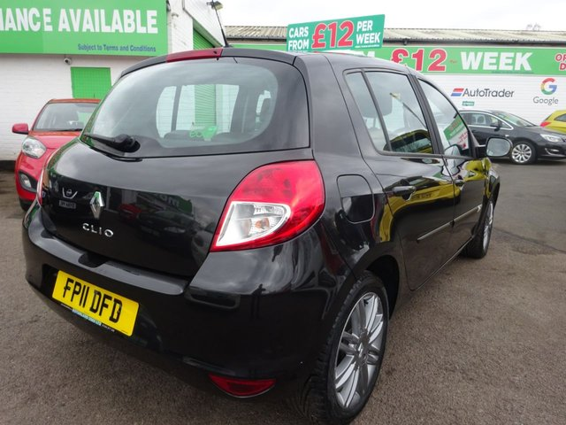 USED 2011 11 RENAULT CLIO 1.1 DYNAMIQUE TOMTOM 16V 5d 75 BHP **  JUST ARRIVED ** CALL 01543 877320**