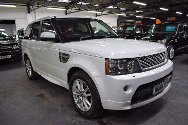 USED 2010 60 LAND ROVER RANGE ROVER SPORT 3.0 TDV6 AUTOBIOGRAPHY SPORT 5d 245 BHP RARE AUTOBIOGRAPHY SPORT - TWO TONE LEATHER - AUTOBIOGRAPHY KIT - FACTORY REAR DVD  - NAV - TV  - EXT LEATHER