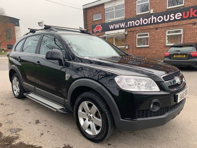 USED 2010 10 CHEVROLET CAPTIVA 2.0 LT VCDI  5d 148 BHP 7 SEATER DIESEL EXCELLENT EXAMPLE FOR AGE AND MILEAGE, COMES WITH ALLOY WHEELS, AIR CONDITIONING, ELECTRIC WINDOWS