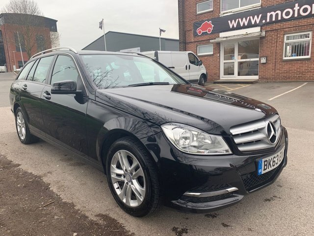 USED 2013 63 MERCEDES-BENZ C-CLASS 2.1 C220 CDI BLUEEFFICIENCY EXECUTIVE ESTATE SE 5d 168 BHP EXCELLENT EXAMPLE FOR AGE AND MILEAGE, COMES WITH ALLOY WHEELS, PARK SENSORS, LEATHER INTERIOR, RADIO/CD/AUX/USB, CRUISE CONTROL, CLIMATE CONTROL, AIR CONDITIONING
