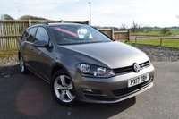 2017 VOLKSWAGEN GOLF 1.6 MATCH EDITION TDI BMT 5d 109 BHP £10750.00