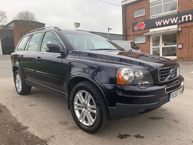 USED 2010 60 VOLVO XC90 2.4 D5 SE AWD 5d 197 BHP NICE EXAMPLE FOR AGE AND MILEAGE, COMES WITH ALLOY WHEELS, AIR CONDITIONING, MULTI FUNCTION STEERING WHEEL, ELECTRIC WINDOWS