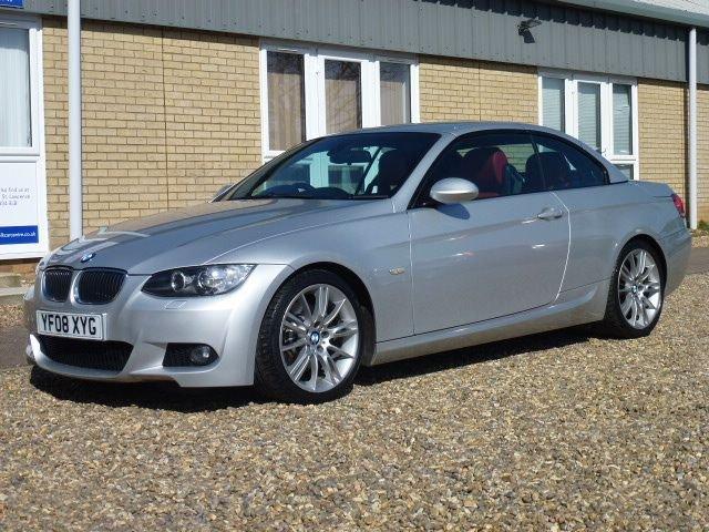 2008 08 BMW 3 SERIES 3.0 325I M SPORT 2d 215 BHP