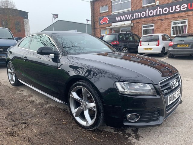 USED 2010 60 AUDI A5 2.0 TDI S LINE SPECIAL EDITION 2d 168 BHP COUPE EXCELLENT EXAMPLE FOR AGE AND MILEAGE, COMES WITH ALLOY WHEELS, LEATHER INTERIOR, AIR CONDITIONING, RADIO/CD, ELECTRIC WINDOWS