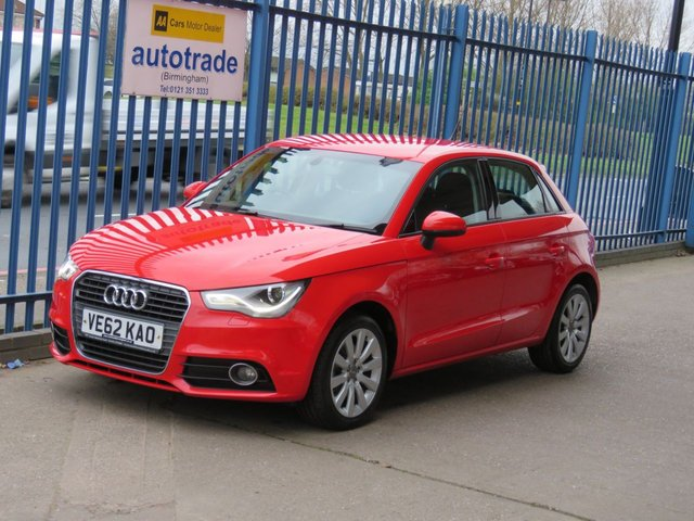 USED 2012 62 AUDI A1 1.6 SPORTBACK TDI Sport 5dr Xenons 1/2 Leather Bluetooth & audio Alloys Finance arranged Part exchange available Open 7 days