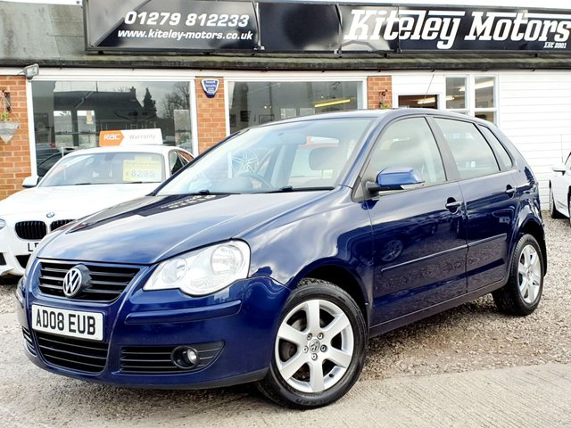 2008 08 VOLKSWAGEN POLO 1.2 MATCH 60BHP 5 DOOR