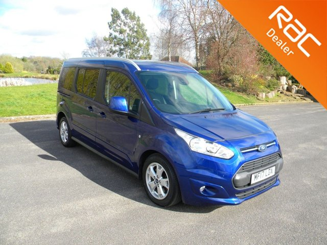 USED 2017 17 FORD GRAND TOURNEO CONNECT 1.5 TITANIUM TDCI 5d 118 BHP Automatic With 7 Seats! Alloy Wheels, Rear Parking Sensors, Cruise Control