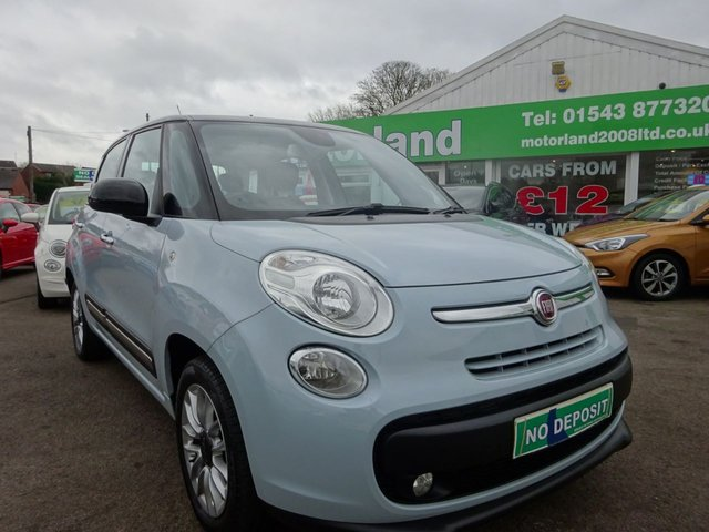 USED 2014 14 FIAT 500L 1.2 MULTIJET LOUNGE 5d 85 BHP **  JUST ARRIVED ** CALL 01543 877320**