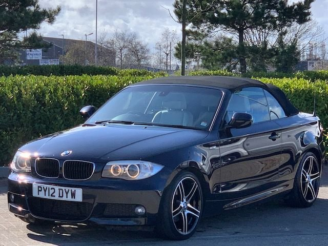 USED 2012 12 BMW 1 SERIES 2.0 120D SPORT PLUS EDITION 2d 175 BHP