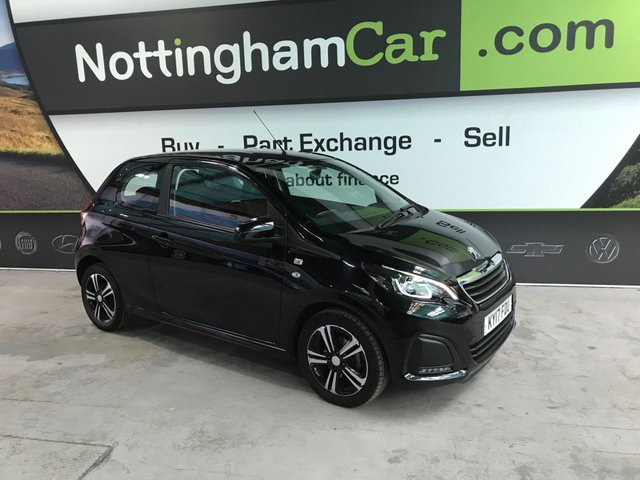 USED 2017 17 PEUGEOT 108 1.0 ACTIVE 3d 68 BHP