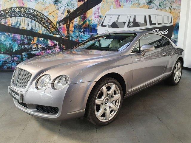USED 2006 06 BENTLEY CONTINENTAL 6.0 GT 2d 550 BHP