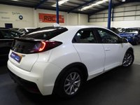 USED 2016 65 HONDA CIVIC  1.6 i-DTEC SE Plus (Navi) (s/s) 5dr