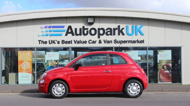USED 2016 16 FIAT 500 1.2 POP 3d 69 BHP LOW DEPOSIT OR NO DEPOSIT FINANCE AVAILABLE