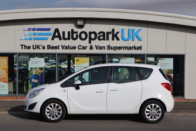 USED 2012 12 VAUXHALL MERIVA 1.4 ACTIVE 5d 99 BHP LOW DEPOSIT OR NO DEPOSIT FINANCE AVAILABLE
