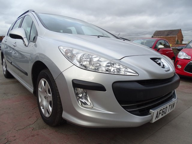 USED 2010 60 PEUGEOT 308 1.6 SW S 5d AUTOMATIC NO MOT ADVISORIES EVER