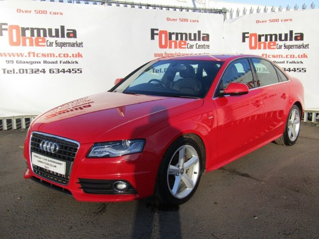 USED 2009 09 AUDI A4 2.0 TDI S line 4dr WAS £6990 NOW £5990. BARGAIN!!