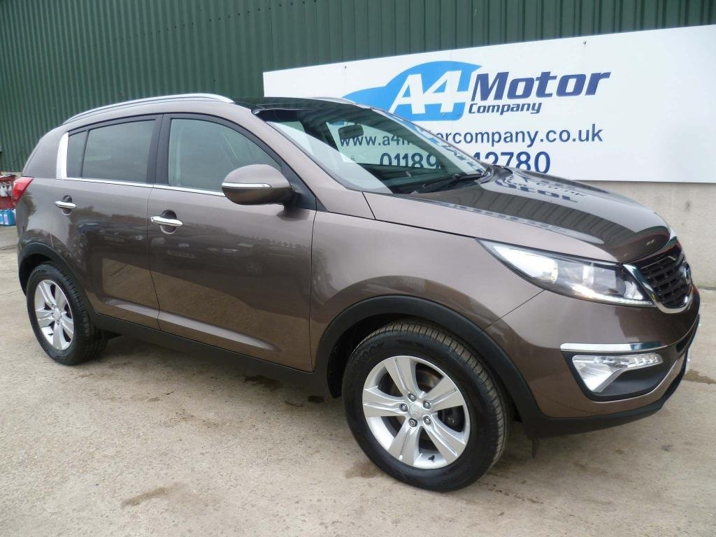 USED 2013 13 KIA SPORTAGE 1.7 CRDi 2 2WD 5dr 115 + REVIEWS YOU CAN TRUST!!