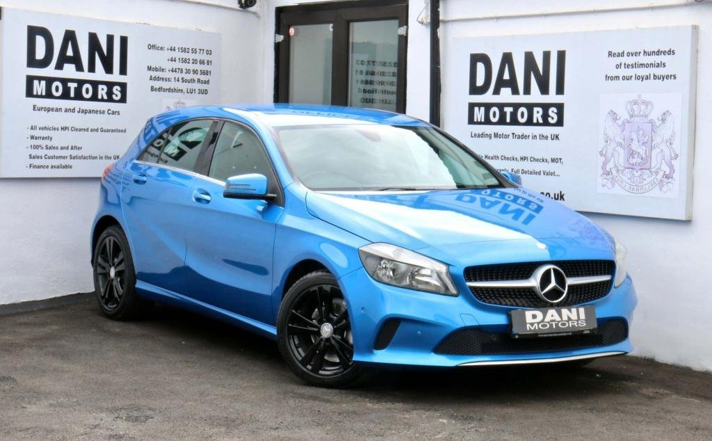 USED 2016 66 MERCEDES-BENZ A-CLASS 1.5 A180d Sport (Executive) 7G-DCT (s/s) 5dr 1 OWNER*SATNAV*PARKING AID