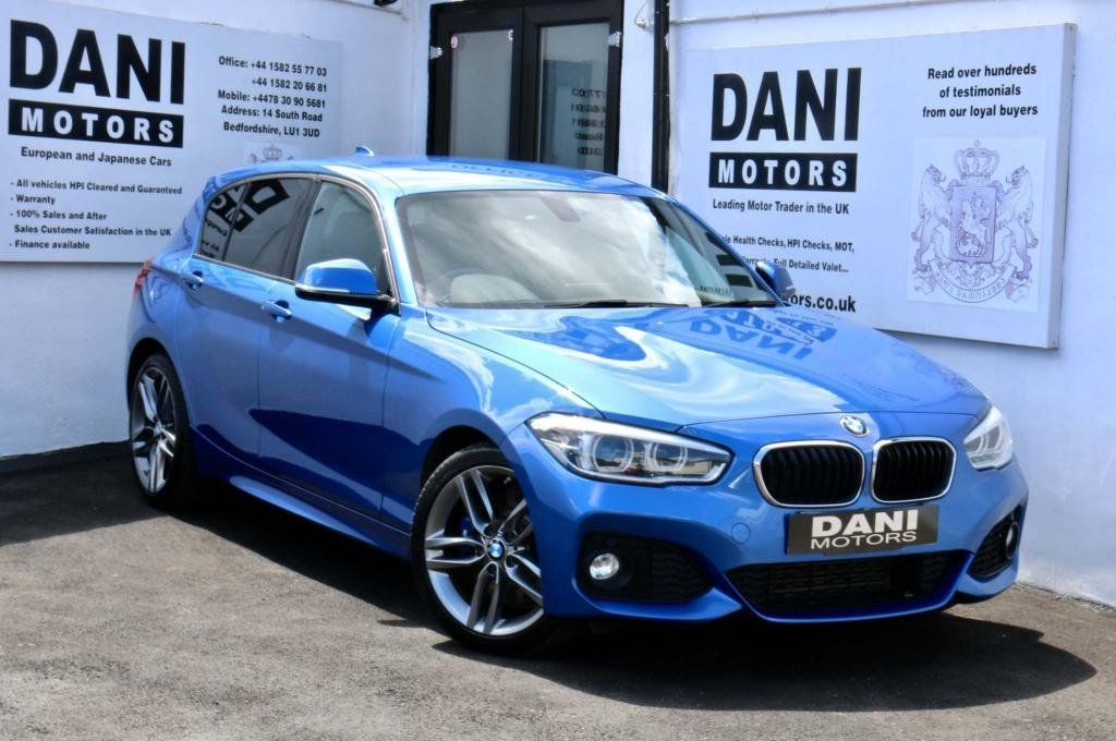 USED 2015 65 BMW 1 SERIES 2.0 125d M Sport Auto (s/s) 5dr 1 OWNER*SATNAV*PARKING AID