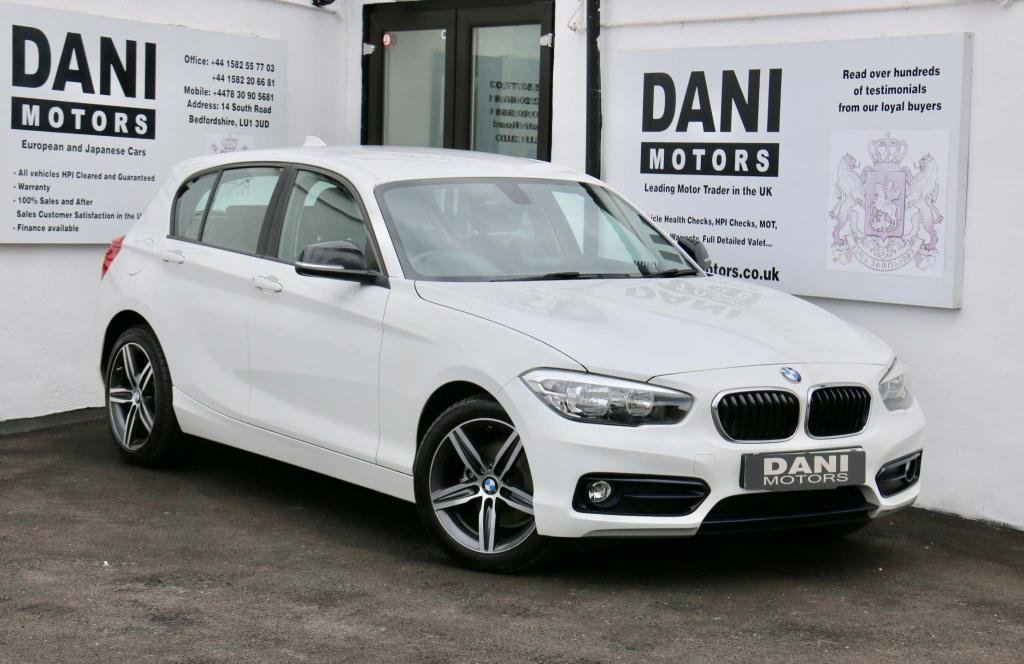 USED 2016 16 BMW 1 SERIES 1.5 116d Sport Sports Hatch (s/s) 5dr 1 OWNER*SATNAV*PARKING AID