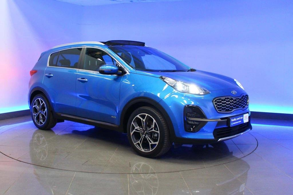 USED 2019 69 KIA SPORTAGE 1.6 T-GDi GT-Line S DCT AWD (s/s) 5dr SAT NAV PAN ROOF  HEATED SEATS