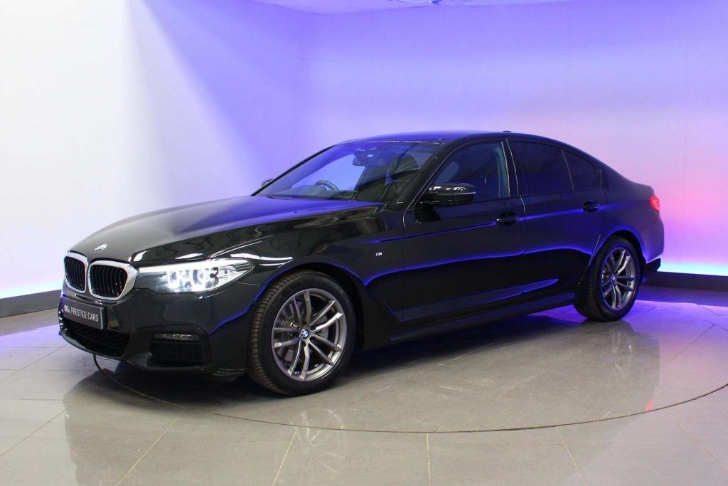 USED 2018 68 BMW 5 SERIES 2.0 520d M Sport Auto (s/s) 4dr SAT NAV - HEATED SEATS- DAB