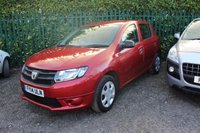 USED 2014 14 DACIA SANDERO 1.1 AMBIANCE 5d 75 BHP ONE OWNER with 5 Stamp SERVICE HISTORY