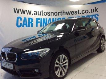 2016 BMW 1 SERIES 1.5 116D SPORT 3d 114 BHP £9795.00